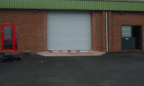 Industrial Sectional Overhead Doors. Previous; Next