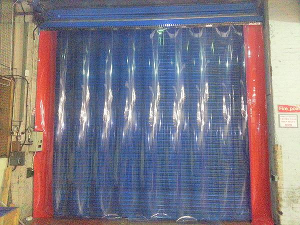 Dust Control Pvc Strip Curtains Worcester Doors